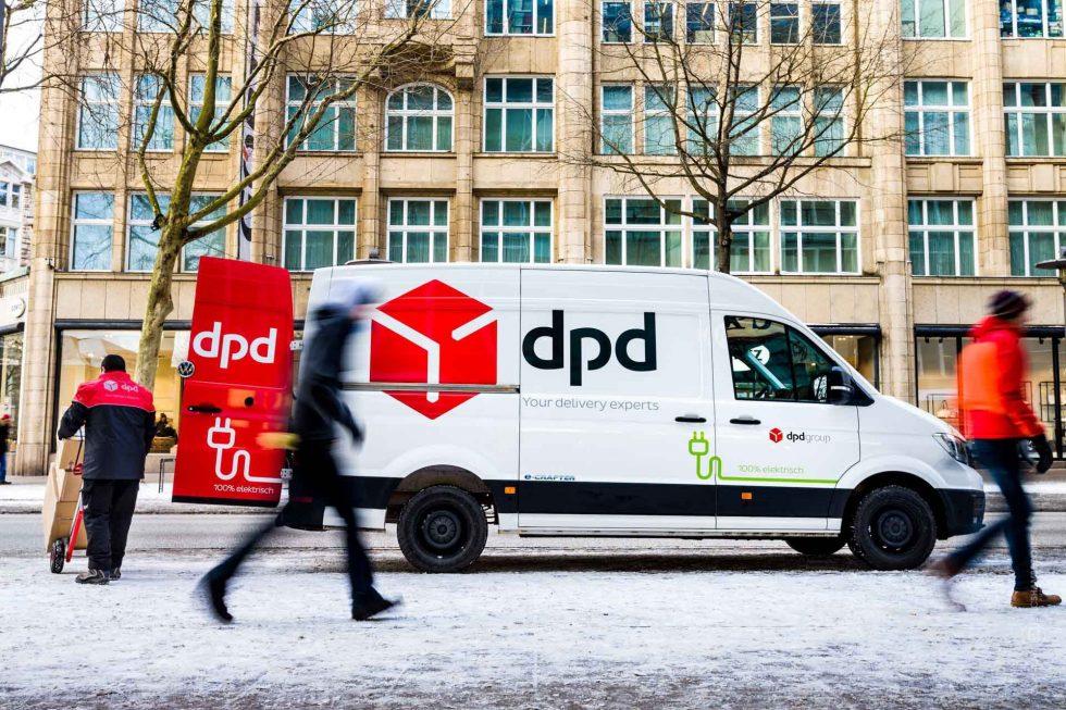 DPD-kurjeris