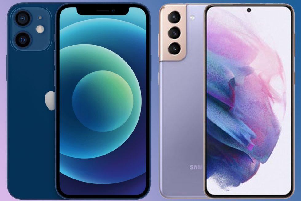 iphone-12-galaxy-s21