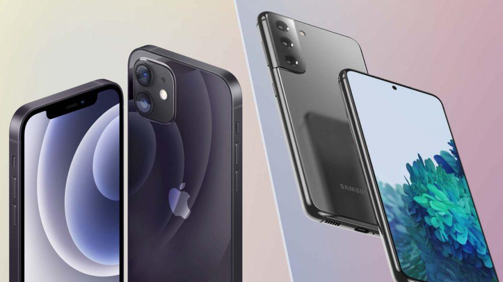 iphone12-galaxys21