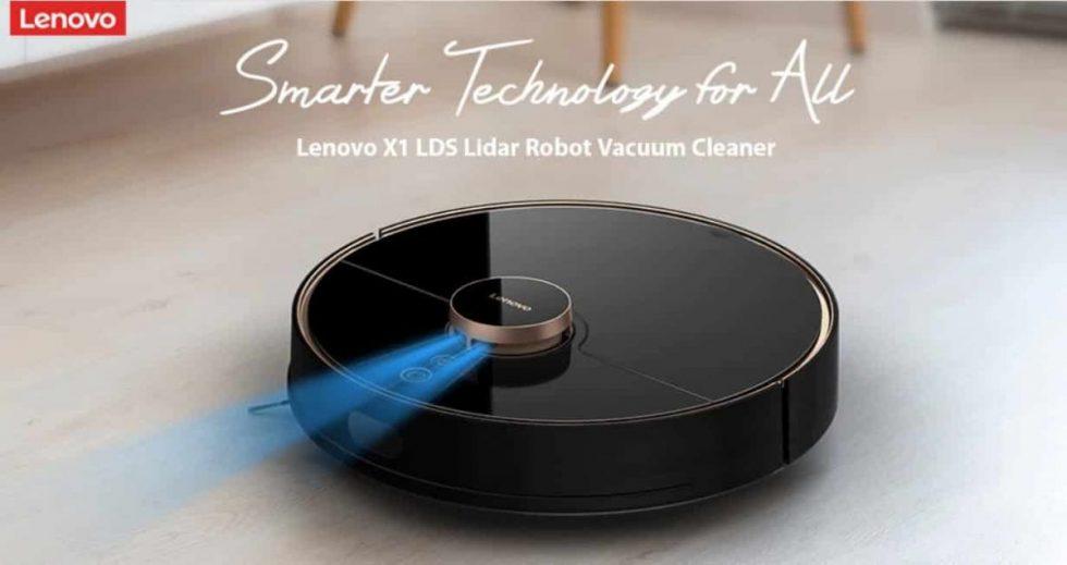 """""""Lenovo"""" pristatė robotą dulkių siurblį – dabar parduodamas už puikią kainą, o pirmieji pirkėjai gaus ir puikių dovanų!"""